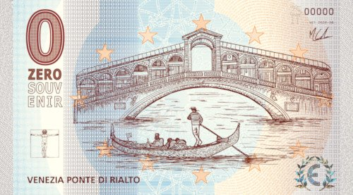 ZEROSOUVENIR · VENEZIA PONTE DI RIALTO · V01 2020-08