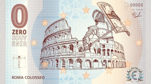 ZEROSOUVENIR · ROMA COLOSSEO · V01 2020-08